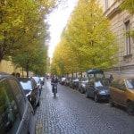 A tömbbelsők utcáinak hármas felosztása