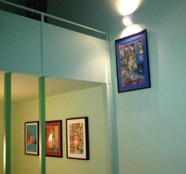 Marcus Goldson humoros, imádni való képei a falakon...