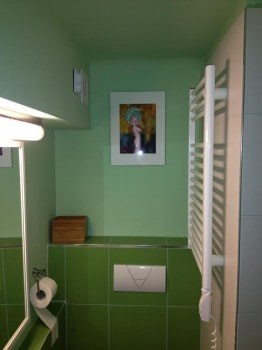 a fürdőszoba egy részlete...