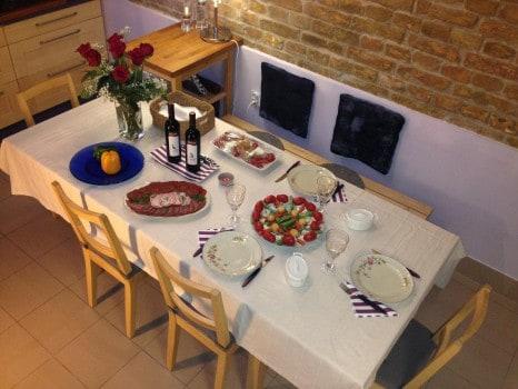 """Az új étkező-elrendezés a """"zsúrkocsival"""" 2014"""