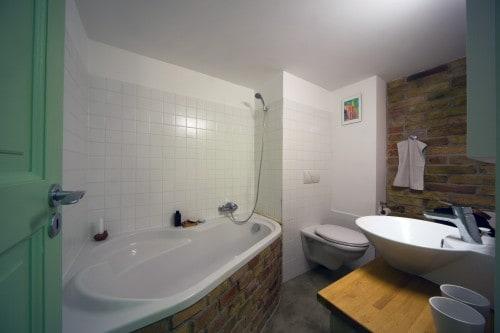 A zöld rész alsó szinti fürdőszobája - Zsitva Tibor fotója