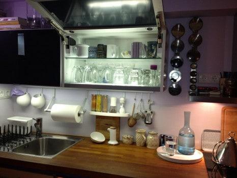 Szeretek ebben a konyhában főzni...