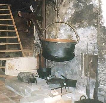 Füstös konyha - távol az urak lakóhelyétől