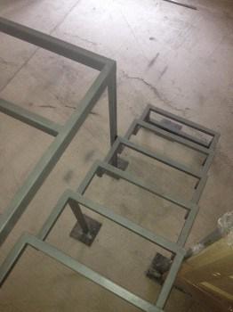 A lépcső magasságában...