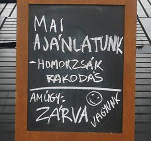 ajánlat a budapesti döntéshozóknak...