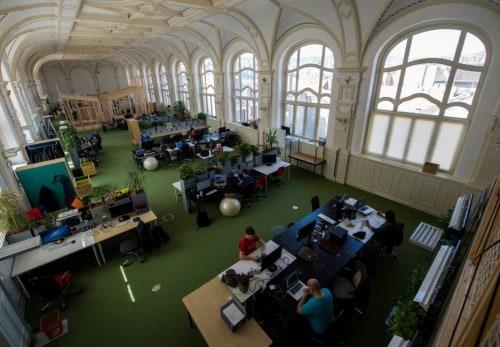 A Prezi budapesti irodája