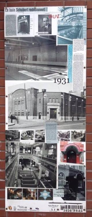 Az első nyilvános fürdő a Mile End-en