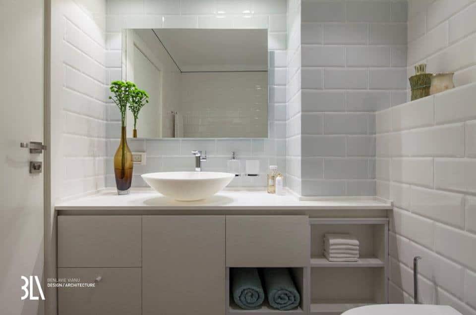 Az egyik fürdőszoba