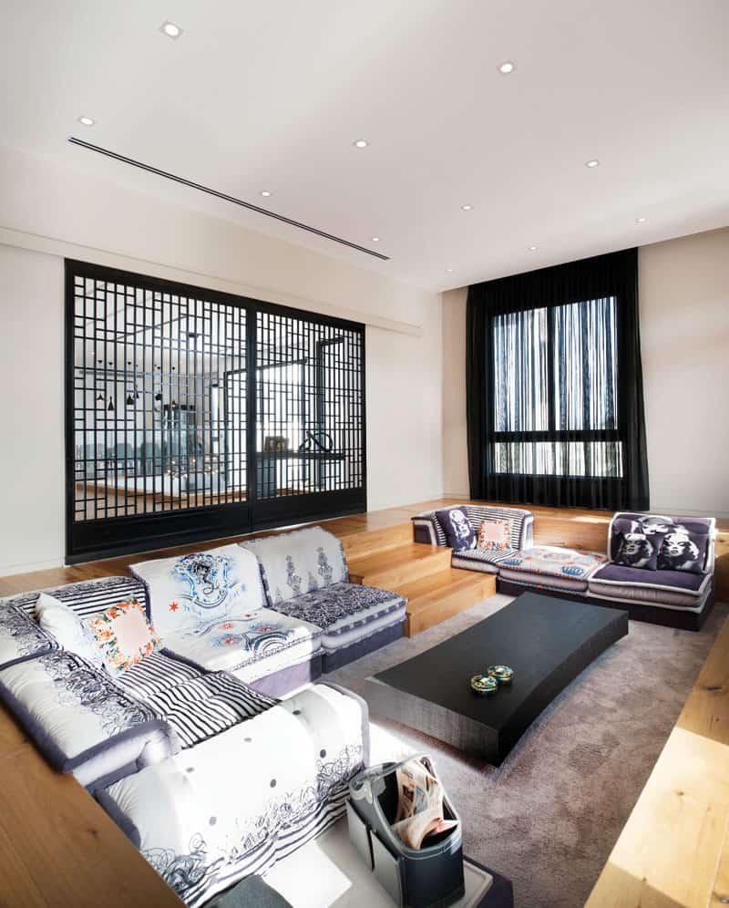 nappali ücsörgő, tv-szoba