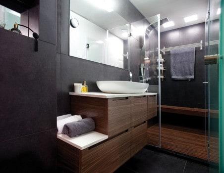 a fürdő mosdó-részlete